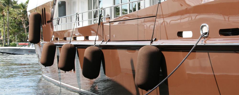 Embroidery, Fender, Fenders, Flat Fender, PVC, PU, Hypalon, Yacht, Super Yacht, Boat, Ship, UK, UK Manufactured, Marine